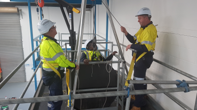 Confined Space (Refresher) Training for ESI Workers - Sydney - Emu Plains